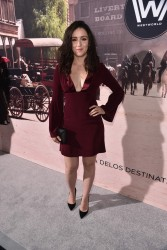 "Shannon Woodward attends the premiere of HBO's ""Westworld"" 9/28/16"
