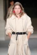 Gigi Hadid - Isabel Marant Fashion Show in Paris 9/29/16