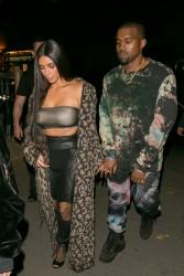 Kim Kardashian - Off-White Fashion Show in Paris 9/29/16