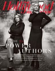 Emily Blunt -            The Hollywood Reporter Magazine October 2016  With Paula Hawkins.