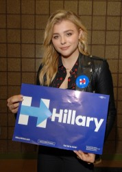 Chloe Grace Moretz - At Lawrence Technical University in Michigan 9/30/16