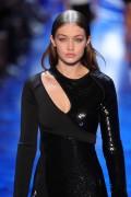 Gigi Hadid - Mugler Fashion Show in Paris 10/1/16