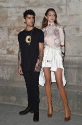 Gigi Hadid - Givenchy Fashion Show in Paris 10/2/16