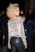 Rose Bertram -             L'Oreal Gold Obsession Party Paris October 2nd 2016.