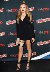 Peyton Roi List - The Thinning Panel at New York Comic Con 10/08/16