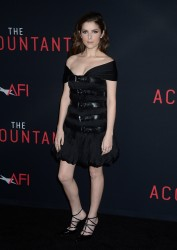 Anna Kendrick - 'The Accountant' premiere 10/10/16