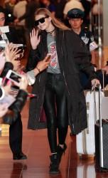 Gigi Hadid - Arriving in Tokyo 10/11/16