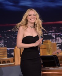 Dakota Fanning - On The Tonight Show in NYC 10/12/16