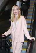 Elle Fanning - At LAX Airport 10/11/16