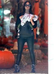 Megan Fox - At a pumpkin patch in Malibu 10/15/16