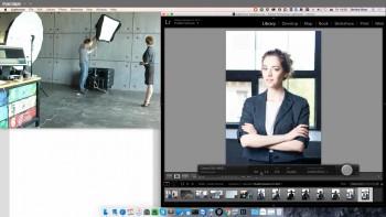 Съемка в бюджетной домашней фотостудии (2016) Мастер-класс