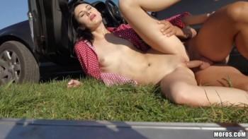 Nikki Stills - Tall Hitchhiker's Juicy Pussy (2016) 720p