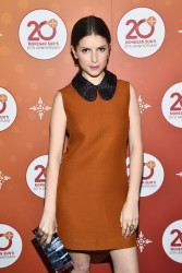 Anna Kendrick - Mohegan Sun's 20th Anniversary After Party in Uncasville, Connecticut 10/15/16