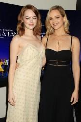 Jennifer Lawrence & Emma Stone - 'La La Land' Special Screening in NYC 10/18/16