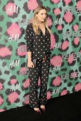 Elizabeth Olsen - KENZO x H&M Launch in NYC 10/19/16