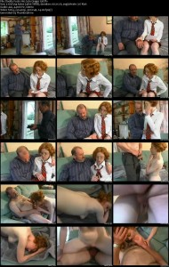 Daddy Fucks His Cute Ginger Girl