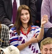 Bella Hadid - At the New York Rangers Game 10/19/16