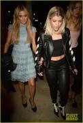 Paris Hilton & Sofia Richie - Leaving The Catch in LA 10/19/16
