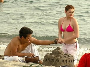charee pineda bikini pics from angelito: batang ama screen caps 01