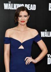 Lauren Cohan -  AMC's 'The Walking Dead' Season 7 Premiere in LA 10/23/16