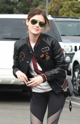 Lucy Hale Out in L.A. - 10/24/16