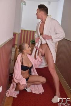 Katarina Muti - Lusty Hardcore Amenities,Ass Fucked In Hotel Sauna[DDF]