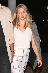 Kate Upton - At The Catch in LA 10/26/16