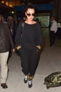 Bella Hadid - Arriving in Paris 10/27/16