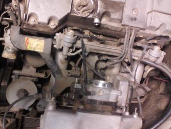 Может ли масло из акпп попасть в двигатель 111 мотор