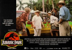 Парк Юрского периода / Jurassic Park (Сэм Нил, Джефф Голдблюм, Лора Дерн, 1993)  3a85db513356554