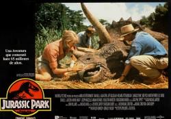 Парк Юрского периода / Jurassic Park (Сэм Нил, Джефф Голдблюм, Лора Дерн, 1993)  E23449513356715