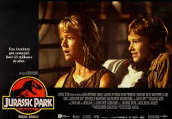Парк Юрского периода / Jurassic Park (Сэм Нил, Джефф Голдблюм, Лора Дерн, 1993)  Eb2e86513356599