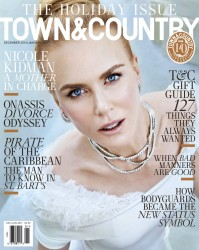 Nicole Kidman - Town & Country Dec 2016/Jan 2017