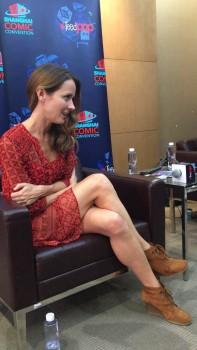 Amy Acker - Shanghai Comic-Con  11/5/16