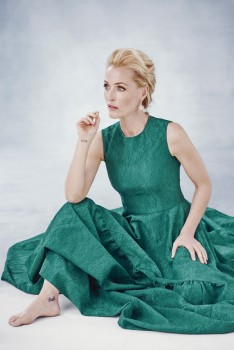 Gillian Anderson - Harper's Bazaar UK Dec 2016