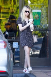 Dakota Fanning - Out in Studio City 11/08/16