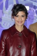 Audrey Tautou -           Galeries Lafayette Haussmann Christmas Lights Switch On Paris November 8th 2016.