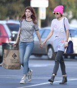 Bella & Dani Thorne - Mercado Sagrado Arts Festival in Sherman Oaks 11/6/16