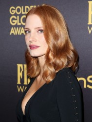Jessica Chastain - THFP Association And InStyle's Celebration Of The 2017 Golden Globe Awards in West Hollywood 11/10/16