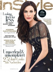 Liv Tyler -                        InStyle Magazine (Germany) December 2016.
