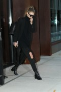 Gigi Hadid - Leaving her apartment in NYC 11/12/16