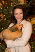 Kristin Davis attends the opening of the Gut Aiderbichl Christmas market in Austria 11/10/2016