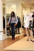 Garcelle Beauvais goes shopping in Beverly 12