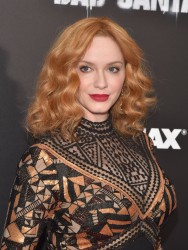Christina Hendricks - 'Bad Santa 2' Premiere in NYC 11/15/16