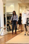 Garcelle Beauvais goes shopping in Beverly 8