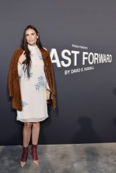 Demi Moore - Prada 'Past Forward' by David O. Russell Premiere in LA 11/15/16