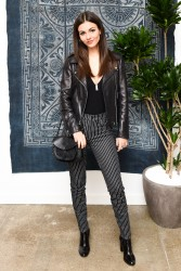 Victoria Justice - Madewell Celebrates the Holidays 11/15/16