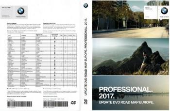 BMW Navigation DVD Road Map Europe PROFESSIONAL 2017 (Speedcam ...