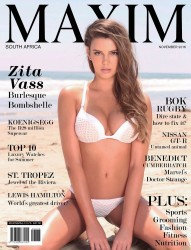 Zita Vass -                 Maxim Magazine South Africa (November 2016).