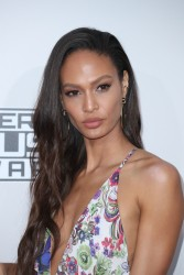 Joan Smalls -                    American Music Awards Los Angeles November 20th 2016.